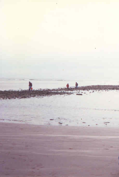 Rainbow Haven at low tide