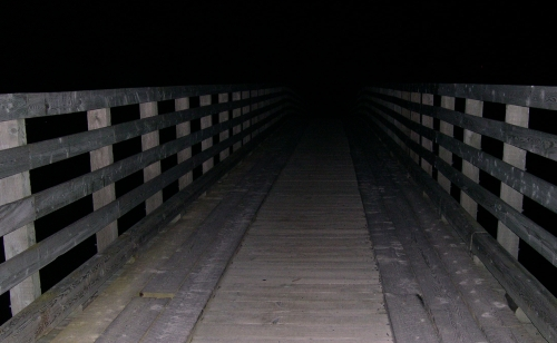 bridge before dawn