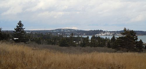 Flandrum Hill in Cow Bay viewed from Hartlen Point in Eastern Passage