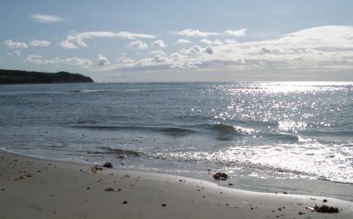 sand sea and sky