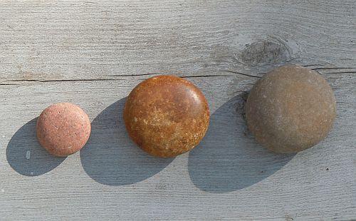 circular stones