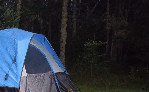 Tent In The Woods : End of summer cramming flandrum hill